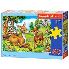 Castorland puzzels PUB066049 - Lief klein hertje 60 stukjes