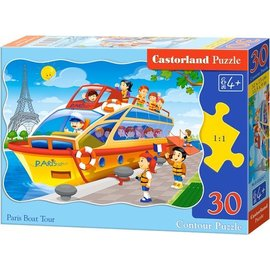 Castorland puzzels PUB03624 - Boottocht in Parijs 30 stukjes