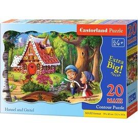 Castorland puzzels PUC02368 - Hans en Grietje 20 stukjes