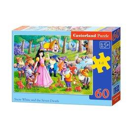 Castorland puzzels PUB066032 - Sneeuwitje en de 7 dwergen 60 stukjes