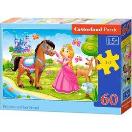 Castorland puzzels PUB06816 - Princess met haar vriendjes 60 stukjes