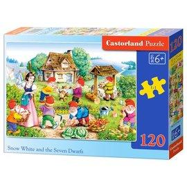 Castorland puzzels PUB13401 - Sneeuwitje en de 7 dwergen 120 stukjes
