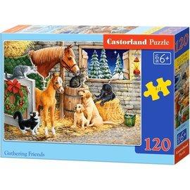 Castorland puzzels PUB13340 - Vrienden zijn graag samen 120 stukjes