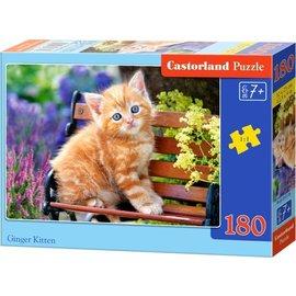 Castorland puzzels PUB018178 - Ginger kitten 180 stukjes