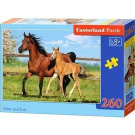 Castorland puzzels PUB27064 - Merrie met veulen 260 stukjes