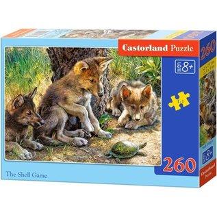 Castorland puzzels PUB27385 - Jonge dieren spelen 260 stukjes