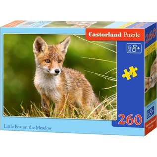 Castorland puzzels PUB27354 - Kleine vos in het veld 260 stukjes