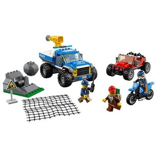 LEGO® LE60172 - Modderweg achtervolging