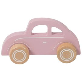 Little Dutch LDU4375 - Little Dutch, auto hout, roze
