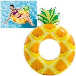Intex ZW773075 - Intex Pineapple Tube 117x86 cm