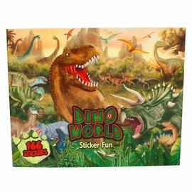 Depesche  DW4467 - Dino World, Create your Dino world stickerfun