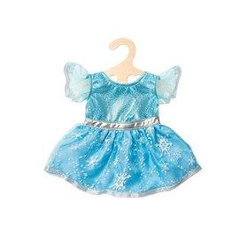 Heless  1720 - Blauw ballerina jurkje met sneeuwvlokken