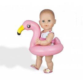 Heless  HL99 - Flamingo poppenzwemset