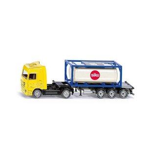Siku SK1795 - Truck met tankcontainer 1:87