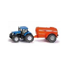 Siku SK1945 - New Holland tractor met eenassig giervat 1:50