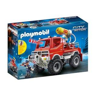 Playmobil PL9466 - Brandweer terreinwagen met waterkanon