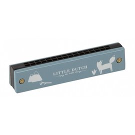 Little Dutch LDU4403 - Little Dutch - Mondharmonica, blauw