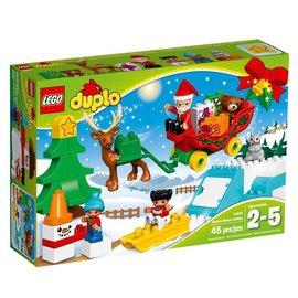 LEGO® LD10837 - Wintervakantie van de kerstman