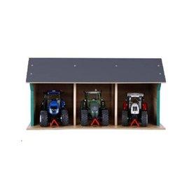 Kids Globe 610192 - Tractor loods / kapschuur 1:32