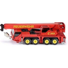 Siku 2110 - Brandweer telescoop kraanwagen 1:55