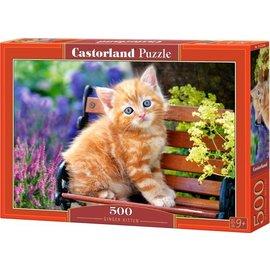 Castorland puzzels PU52240 - Ginger kitten, 500 st.