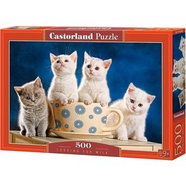 Castorland puzzels PU52608 - Looking for milk