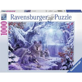 Ravensburger PU197040 - Wolven in de winter, 1000 st.