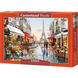 Castorland puzzels PU1512882 - Flowershop, 1500 st.