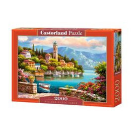 Castorland puzzels PU2006962 - Village Clock Tower, 2000 st.