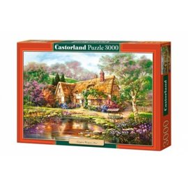 Castorland puzzels PU3003652 - Twilight at Woodgreen pond, 3000 st