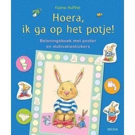 Boeken 0406060 - Kleine Huppel | Hoera ik ga op het potje! (poster+motivatiestickers)
