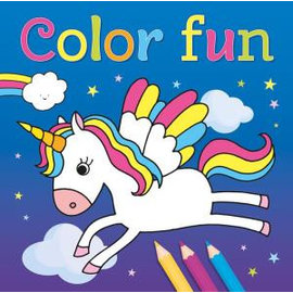 Boeken 691037 - Color Fun Unicorns
