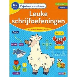 Boeken 642431 - Oefenboek met stickers - Leuke schrijfoefeningen (6-7j)