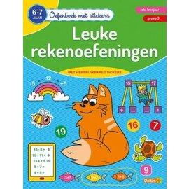 Boeken 642430 - Oefenboek met stickers - Leuke rekenoefeningen (6-7 j)