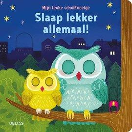 Boeken 580655 - Mijn leuke schuifboekje - Slaap lekker allemaal