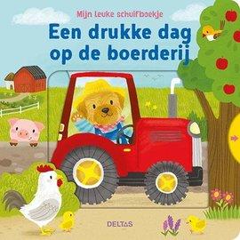 Boeken 580654 - Mijn leuke schuifboekje - Een drukke dag op de boerderij