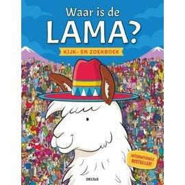 Boeken 425047 - Waar is de lama? Kijk- en zoekboek