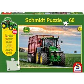 Schmidt 8370R Tractor, 60 stukjes + Siku Tractor