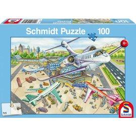 Schmidt Een dag op de luchthaven, 100 stukjes