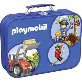 Schmidt Playmobil box, 2x60, 2x100 stukjes