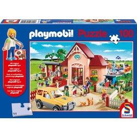 Schmidt Playmobil, Dierenarts, 100 stukjes