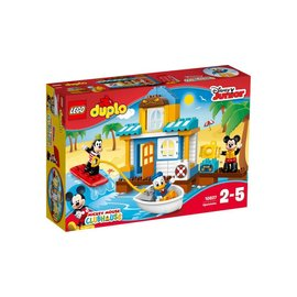 LEGO® LD10827 - Mickey & Friends strandhuis