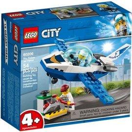 LEGO® LE60206 - Luchtpolitie vliegtuigpatrouille