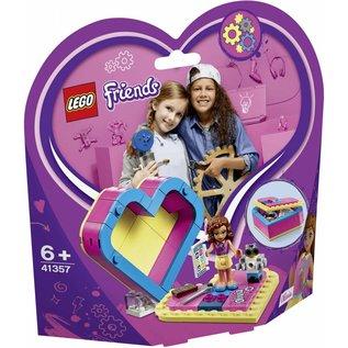 LEGO® LE41357 - Olivia's hartvormige doos
