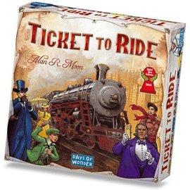 Days of Wonder DOW7251 - Ticket to Ride: USA