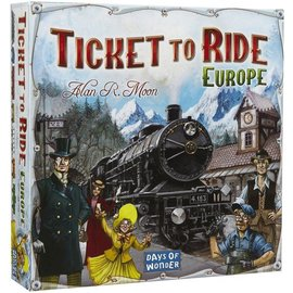 Days of Wonder DOW7252 - Ticket to Ride: Europa