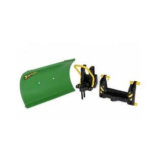 Rolly Toys RT408993 - Sneeuwschuif groen met 2 adapters (voor rolly traclader en frontaanbouw)