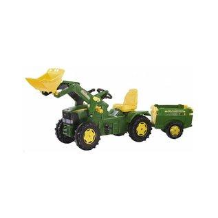 Rolly Toys RT49547 - John Deere 6920 met voorlader en farmtrailer