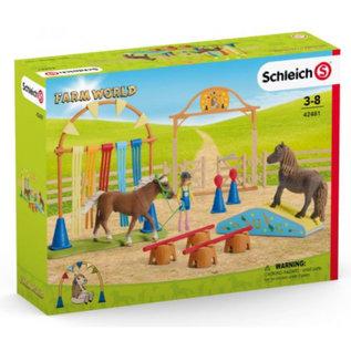 Schleich SL42481 - Pony behendigheidstraining