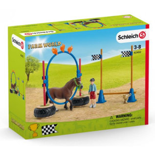 Schleich SL42482 - Pony behendigheidswedstrijd